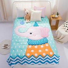 芒更家纺萌版卡通造型活泼可爱立体棉花被-大象