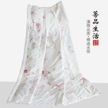 蒂品生活(DIPINHOME)家纺 柔丝缎夏凉被 全棉空调被芯 花卉夏天用被子