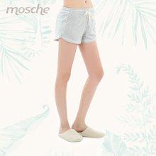 夏季纯棉女款短睡裤 运动风格版型短裤 可外穿家居短裤 4570