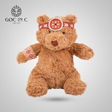 GOC IN C 印第安兔电热饼暖手宝电暖宝充电安全防爆印第安熊暖宝