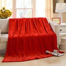 羽芯家纺加厚金貂绒毛毯YC860106