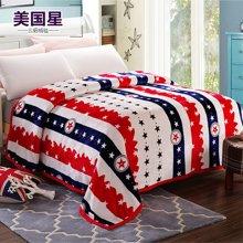 羽芯家纺 新款云貂绒毛毯 加厚法兰绒毯冬天加厚床单YC850007