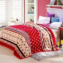 VIPLIFE毛毯 青春时尚休闲毯 午睡沙发毯子