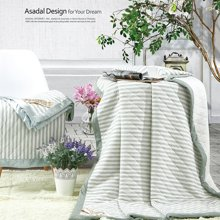 KINTHERI/金丝莉 竹语棉毯  空调被夏凉被四季被毛毯毛巾被办公室午睡毯休闲毯床单