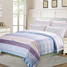 帝豪家纺 全棉单件被套 纯棉1.2米床 1.5米床 1.8米床 被罩 条纹斜纹 单双人纯棉被套
