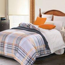帝豪家纺 被套纯棉单件 1.5米床 1.8米床 欧式简约双人单件全棉被罩