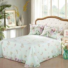 帝豪家纺 床单单件纯棉双人单人学生宿舍1.2米1.5米1.8米全棉被单