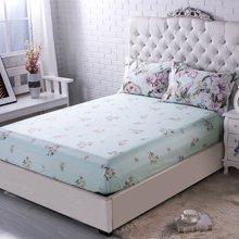 帝豪家纺 纯棉床笠单件全棉床罩单件防滑1.2m1.5m1.8m床套保护套