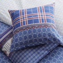 lehome家纺民族风印花靠垫套一对装 青花瓷靠套多款可选 不含芯-元夕--靠套一对装