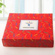 金号礼盒 空礼盒 可搭配套装浴巾、面巾、方巾各一条31.5*28.5*7