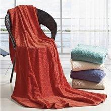 【山东孚日集团,世界巾被旗舰 ▍✔舒适系列】幸福魔方纯棉毛巾被
