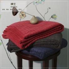 【山东孚日集团,世界巾被旗舰 ▍✔欧式奢华系列】加厚纯棉方格浴巾*加大加厚哦