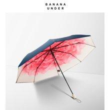 17款新品BANANA UNDER蕉下洛荷雨棠小黑伞双层女太阳伞防晒晴雨伞折叠