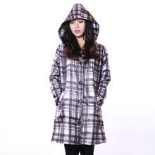 姣兰 韩版长款连帽雨披 防水雨衣 便携式风衣