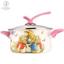 比得兔 搪瓷汤锅高温珐琅彩瓷燃气电磁炉通用炖汤焖煮锅-PR-T256