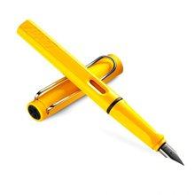 德国LAMY凌美狩猎系列墨水笔黄色 F笔尖(2支)