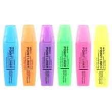 晨光文具荧光笔办公学习 醒目彩色荧光笔标记笔记号笔MG2150划线笔