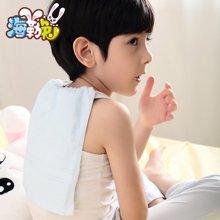 Uhealer 素色竹纤维小毛巾 儿童婴儿植物纤维毛巾手帕口水巾