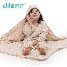 蒂乐 彩棉新生儿抱被 可拆洗婴儿被  DL531