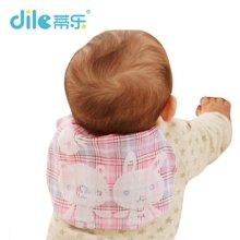 蒂乐婴儿吸汗巾垫背巾三色三条装