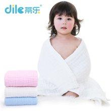 蒂乐纯棉六层加厚纱布婴幼儿大浴巾超柔软毛巾被