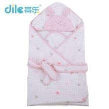 蒂乐夏款纯棉纱布婴儿抱被盖毯