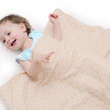 蒂乐彩棉纱布盖毯夏季婴儿空调被