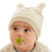 蒂乐彩棉卡通婴儿帽宝宝帽子
