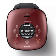 Philips/飞利浦 智芯回漩IH智能多功能4L家用电饭煲 HD4556