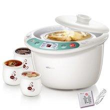 Bear/小熊电炖盅DDZ-125TB 陶瓷4胆煲汤隔水炖2.5L双层