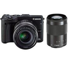 佳能(Canon)EOS M3 微型单电双头套机(18-55mm f/3.5-5.6 IS STM、55-200mm f/4.5-6.3 IS STM)