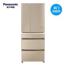 Panasonic/松下 NR-E531TP-NA 多门冰箱498L璀璨金 变频风冷无霜