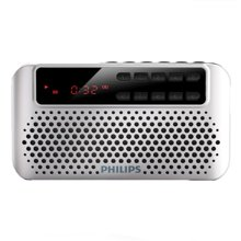 飞利浦(PHILIPS) SBM120  插卡音箱 便携小音响 音乐MP3外响播放器 FM收音机