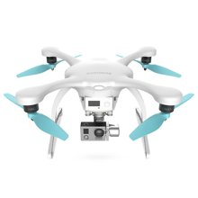 亿航(EHANG) GHOSTDRONE2.0无人机云台版 手机体感操作 4K超高清航拍 四轴飞行器 白色IOS版 2889308