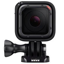 达宝恩 GoPro HERO5 Session 运动摄像机 4K高清 语音控制 机身防水 黑色 3825014
