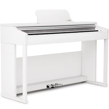 达宝恩 The ONE智能钢琴 数码电钢琴 88键重锤乐器 白色
