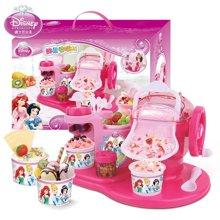 迪士尼冰雪奇缘儿童雪糕机冰淇淋机家用冰激凌冰雪水果机玩具公主款