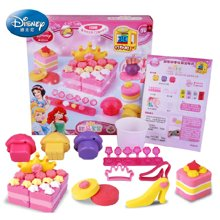 迪士尼3d打印泥 甜品套装公主3d打印泥彩泥橡皮泥不干无毒女孩玩具