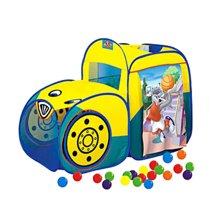 蓝鹰儿童帐篷多功能直通车 休闲屋 玩具屋 赠45个海洋球 LR2122