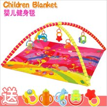 小才童爆款宝宝爬行垫 婴儿玩具 健身毯 玩具垫 游戏毯81758JDK
