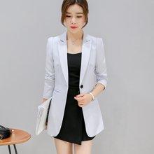 缔五季韩版休闲长袖小西装时尚修身小西服外套女秋外套321RX