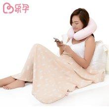 乐孕  彩棉盖毯银纤维孕妇防辐射盖毯 婴儿抱被
