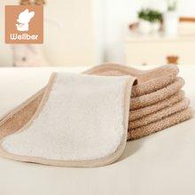 威尔贝鲁 彩棉竹浆纤维新生儿宝宝尿布 春夏款柔软婴幼儿尿布