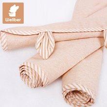 威尔贝鲁 防水透气彩棉宝宝隔尿垫 新生儿婴儿床垫 纯棉月经垫