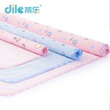 【120*60cm大尺寸】蒂乐纯棉可洗双面婴儿隔尿垫大号单条