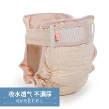 蒂乐彩棉加厚防漏尿布裤3条装