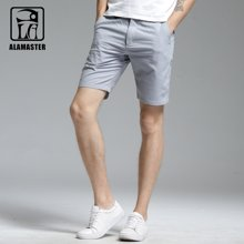 A LA MASTER 夏季短裤男士亚麻裤薄韩版五分裤宽松休闲棉麻17675S