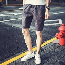 芃拉2018夏季男士短裤韩版夏天五分裤沙滩裤中裤学生裤子潮流HXS6073