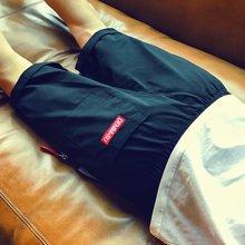 芃拉短裤男韩版潮流夏季薄款男生休闲中裤青少年学生男孩运动五分裤HXS6012