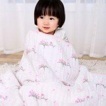 Marvelous kids婴幼儿6层全棉双面印花盖毯午睡毯超柔软婴幼儿盖被